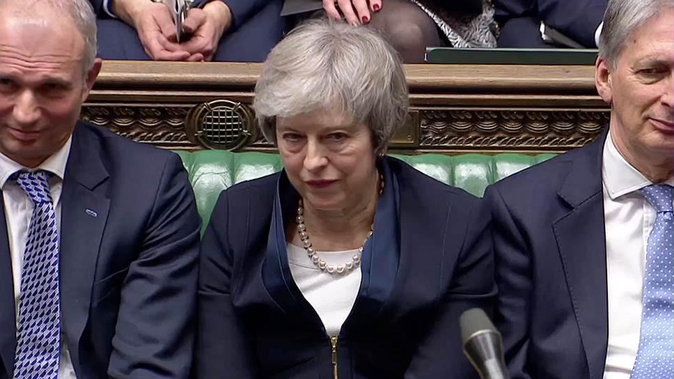 Результаты голосования по предложенной Терезой Мэй сделке с ЕС стали самым громким провалом законопроекта, внесенного правительством, за последние сто лет