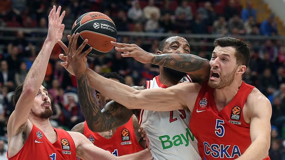Чтобы справиться с «Баварией», баскетболистам ЦСКА пришлось стоять стеной