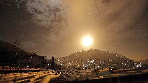 Израиль хорошо прибомбился к иранским целям // По территории Сирии нанесен самый мощный удар с мая прошлого года