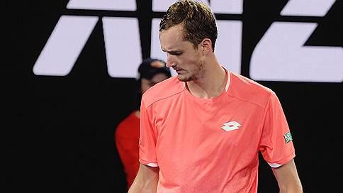 Даниил Медведев проверил первого // Он проиграл Новаку Джоковичу в 1/8 финала