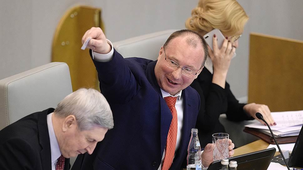 Вице-спикер Госдумы от ЛДПР Игорь Лебедев