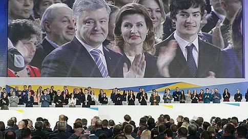 У Петра есть еще порох для Порошенко  / Президент Украины идет на выборы самовыдвиженцем