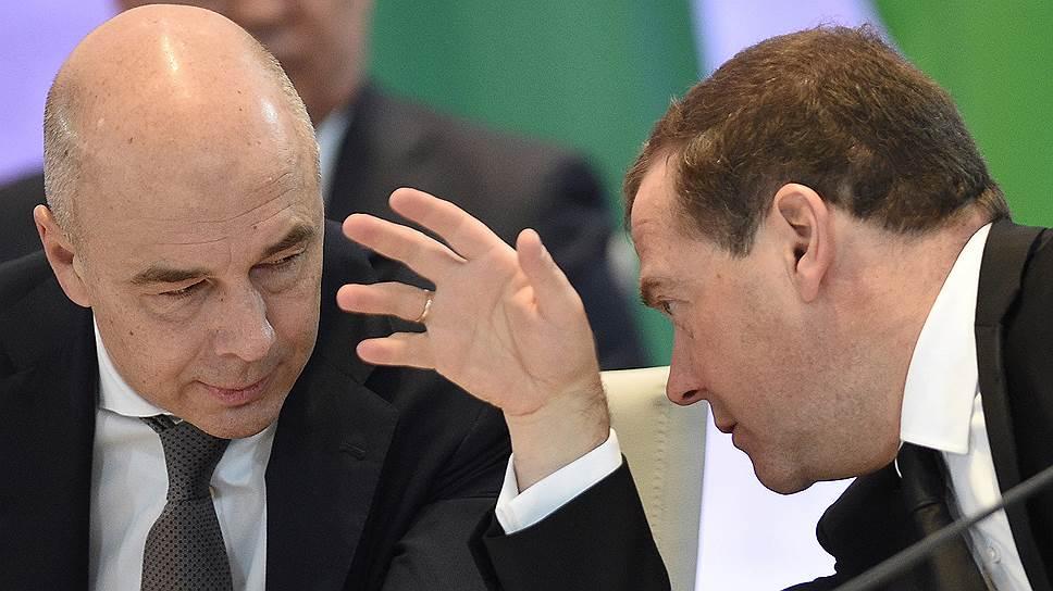 """По данным """"Ъ"""", первый вице-премьер Антон Силуанов убедил своего руководителя Дмитрия Медведева в необходимости ограничить бюджетную свободу нацпроектов"""