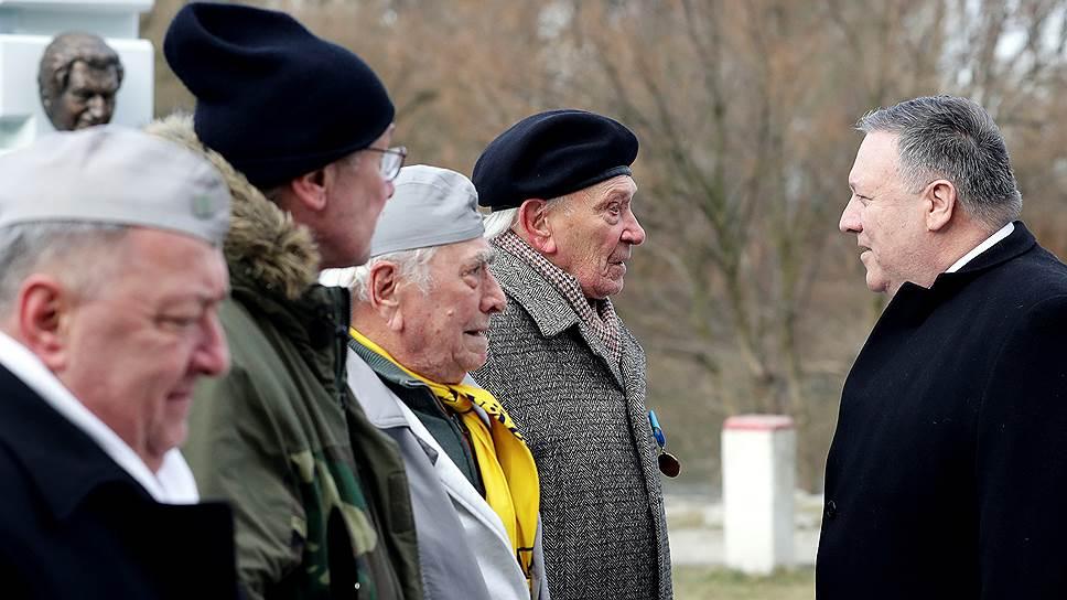 Посещая мемориал Свободы в Братиславе, госсекретарь Майк Помпео заверил ветеранов антикоммунистического движения, что США не бросят словаков и будут дальше противостоять Москве