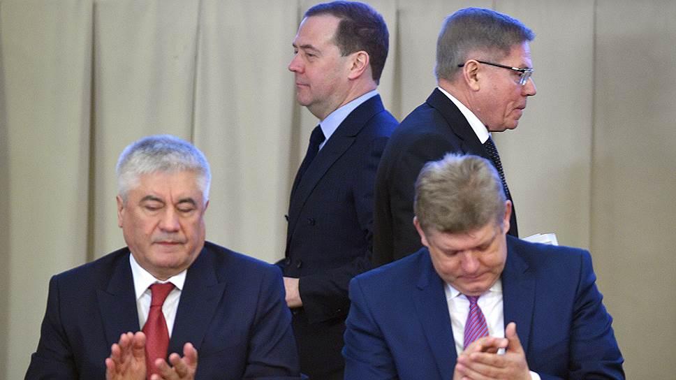 Дмитрий Медведев и Вячеслав Лебедев рассказали судьям, что им ждать от судебной реформы
