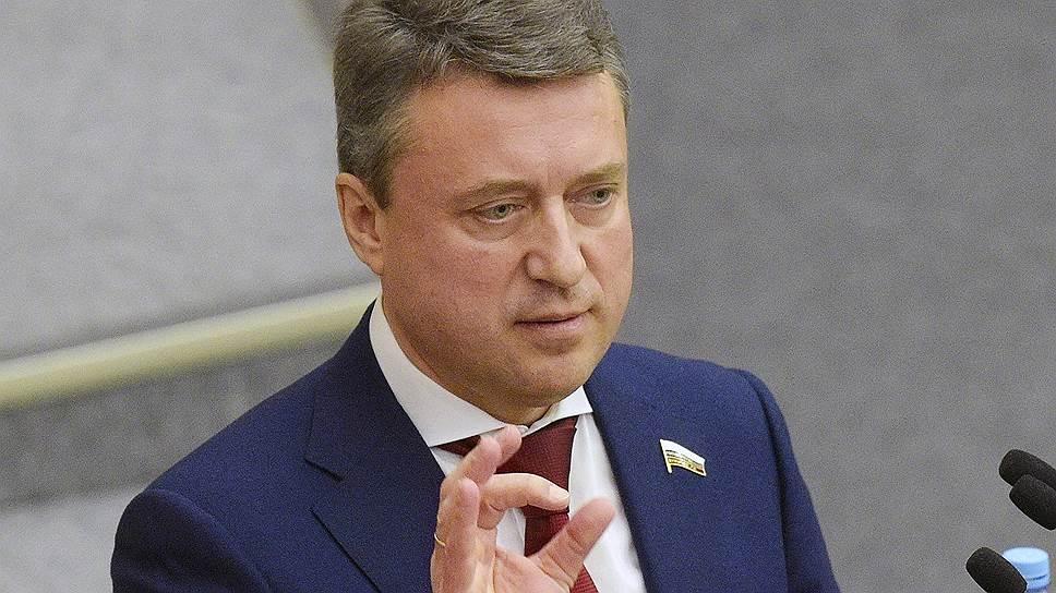 Заместитель председателя комитета ГД России по безопасности и противодействию коррупции Анатолий Выборный
