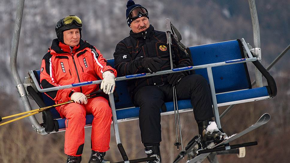 Как Владимир Путин укатал Александра Лукашенко вплоть до схода с дистанции