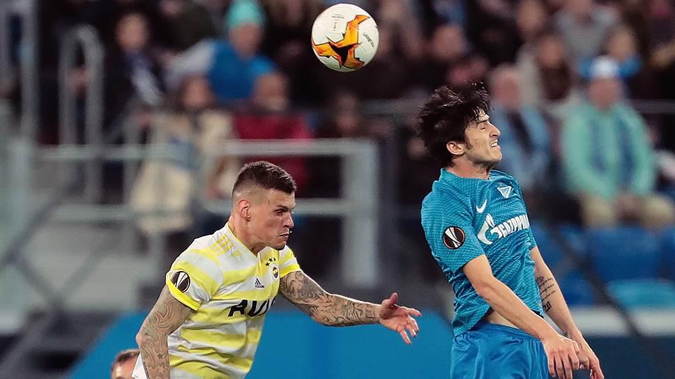 Как «Зенит» вышел в 1/8 финала Лиги Европы