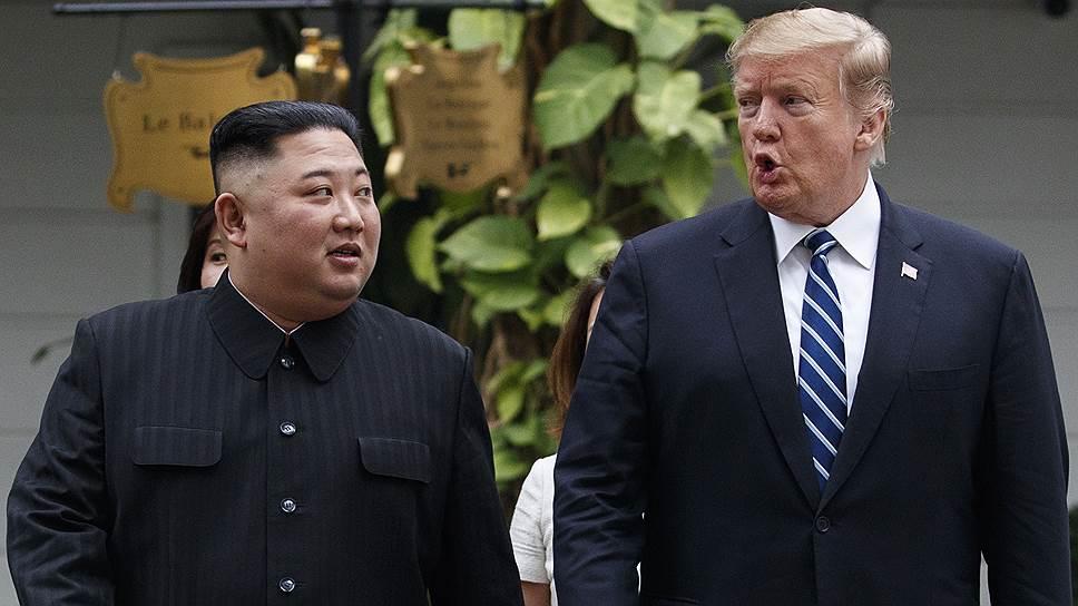 Ким Чен Ыну и Дональду Трампу не удалось ни о чем договориться. Положительным моментом стало лишь то, что старые договоренности остались неизменными
