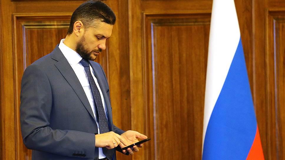 Врио губернатора Забайкальского края Александр Осипов