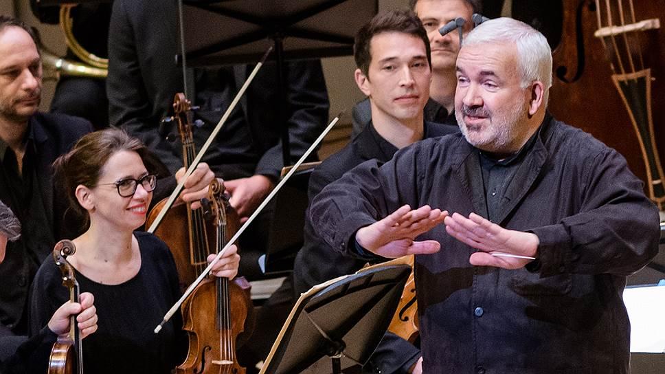 Концертная манера «Музыкантов Лувра» не чужда настоящей театрализации