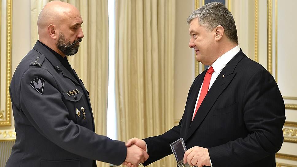Новый замглавы СНБО Украины Сергей Кривонос и президент страны Петр Порошенко намерены бороться с коррупцией рука об руку