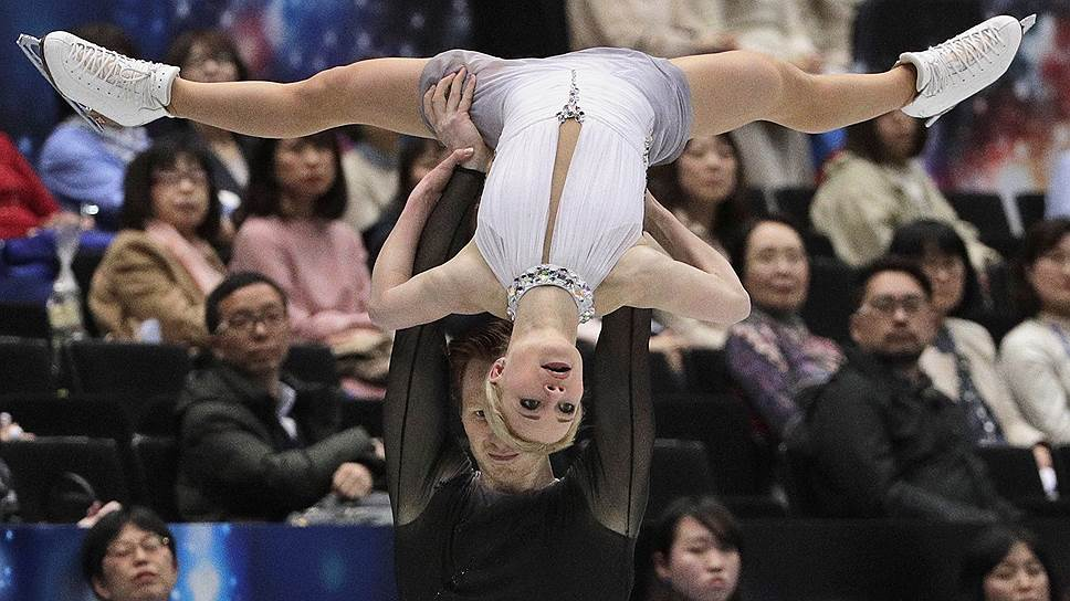 Несмотря на практически безошибочный прокат обеих программ, Евгения Тарасова и Владимир Морозов (на фото) обойти Суй Вэньцзин—Хань Цуна на смогли