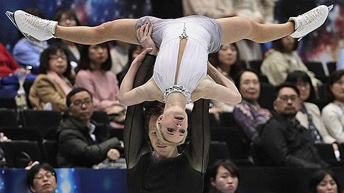 Мировой рекорд не помог // Россияне уступили победу спортивной паре из Китая