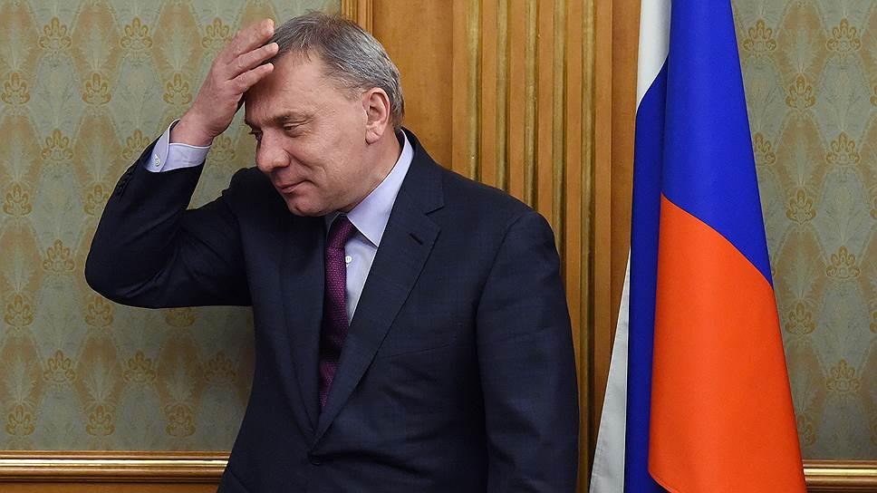 Заместитель председателя правительства Юрий Борисов