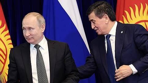 Киргизия не свернула с курса на Россию  / Владимир Путин договорился о расширении военного и экономического сотрудничества с республикой