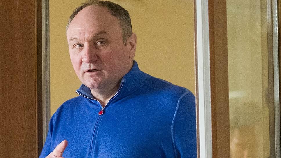 Глава СУ СКР по Калининградской области Виктор Леденев заявил в суде, что Александр Дацышин (фото) ему не угрожал