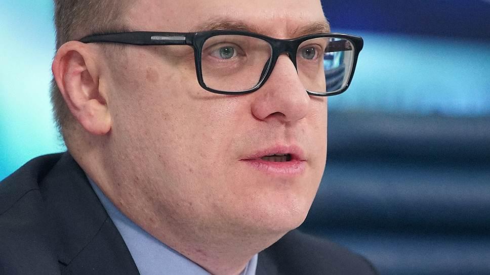 Врио губернатора Челябинской области Алексей Текслер