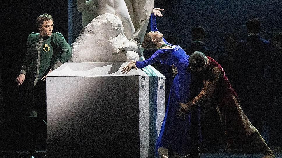 В воображении Леонта (Денис Савин) его жена и друг (Ольга Смирнова и Эрик Сволкин) занимаются любовью прямо у него под боком