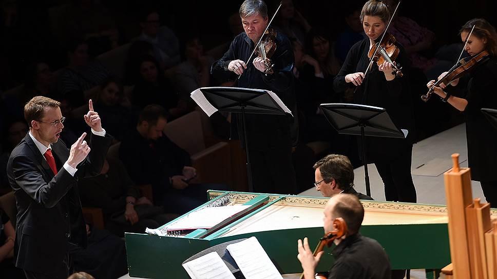 «Страсти» под управлением Йорна Бойзена (слева) необъяснимым образом кажутся музыкой XXI века