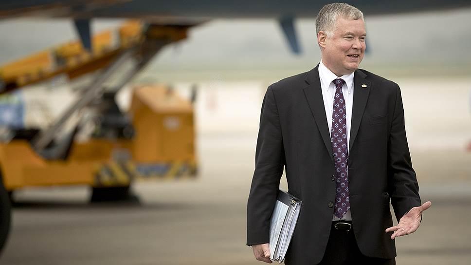 Спецпредставитель США по КНДР Стивен Бигэн