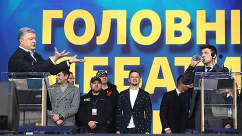 Теледебачение // Как Владимир Зеленский вывел Петра Порошенко на себя