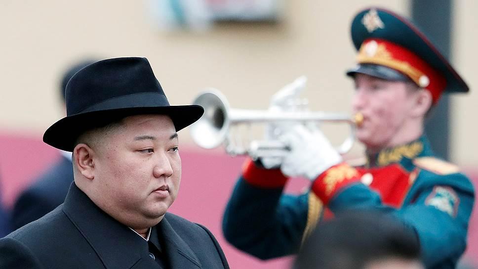 Во Владивосток Ким Чен Ын приехал со своим бронированным лимузином и своей личной охраной
