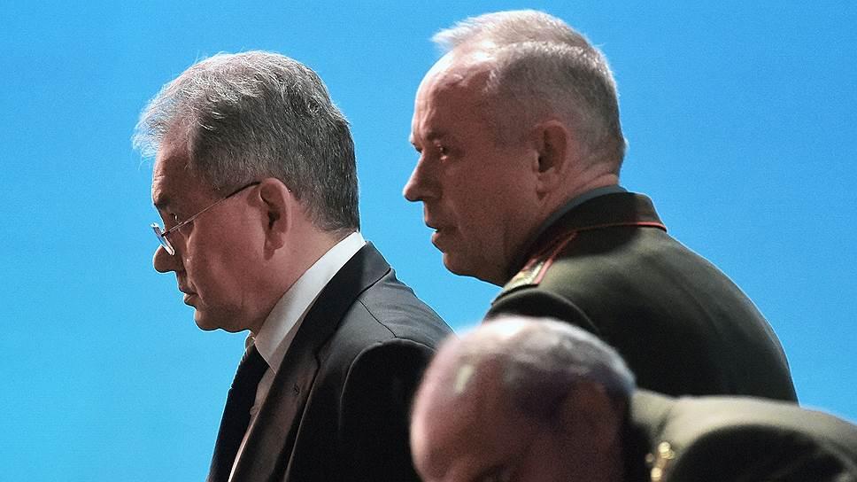 На выступление Сергея Шойгу равнялись все участники конференции