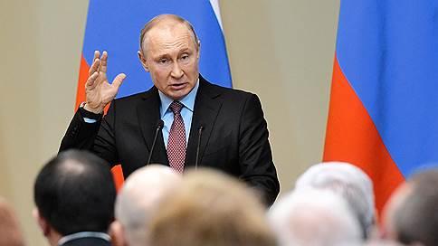 Деньги торопят к нацпроектам  / Проблемы их реализации Владимир Путин обсудил с законодателями