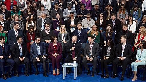 Медиафорум ОНФ переехал в Сочи  / Мероприятие движения подстраивают под график Владимира Путина