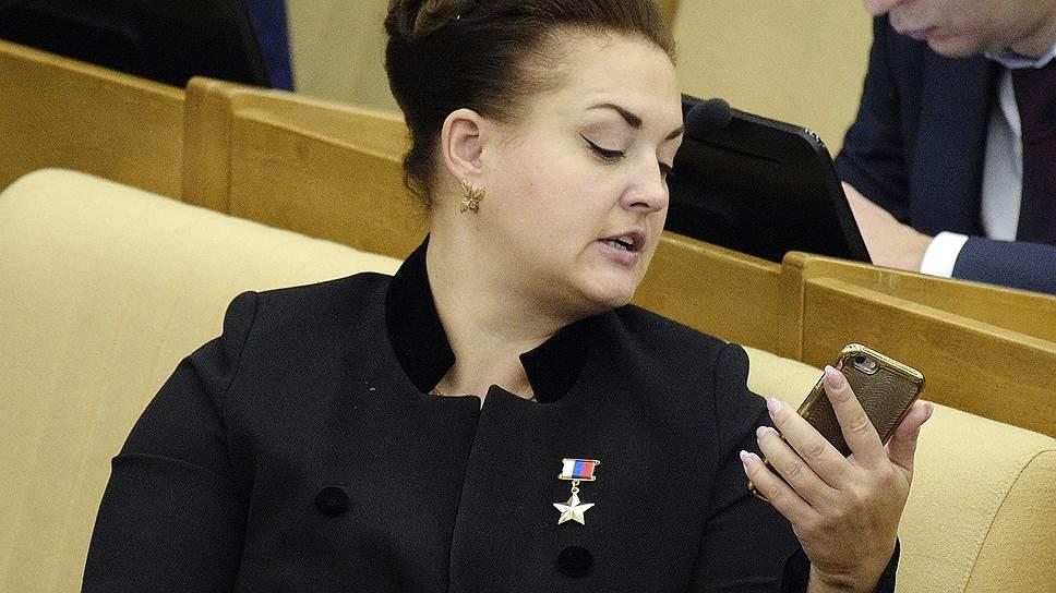 Заместитель председателя комитета Госдумы России по экологии и охране окружающей среды Елена Серова