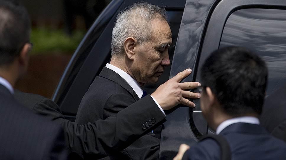 Покидая Вашингтон после неудачных торговых переговоров с США, вице-премьер КНР Лю Хэ заявил о намерении продолжить их в Пекине