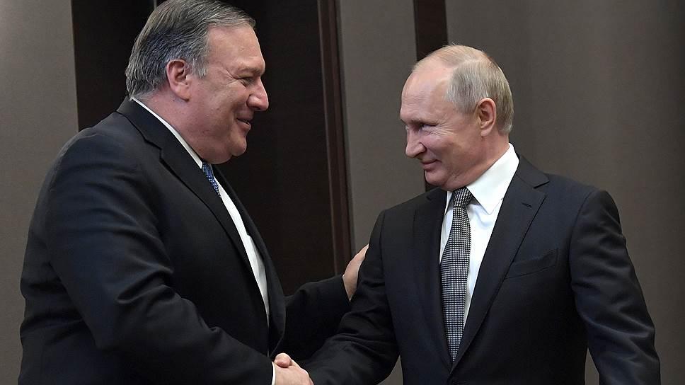 Грудой тел, суматохой явлений день отошел / Как Майк Помпео Владимира Путина в Сочи ждал