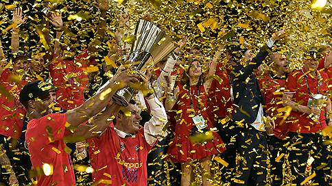 ЦСКА занял свое место // Спустя три года он снова стал лучшим клубом Европы