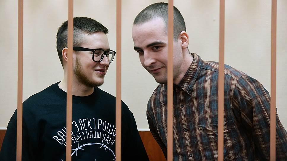 Виктору Филинкову (слева) и Юлию Бояршинову кажутся смешными некоторые детали обвинения