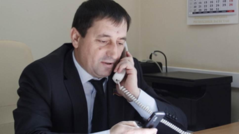 Глава комитета по законодательству Народного собрания Республики Дагестан Фикрет Раджабов