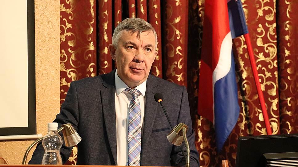 Министр здравоохранения Амурской области Андрей Субботин