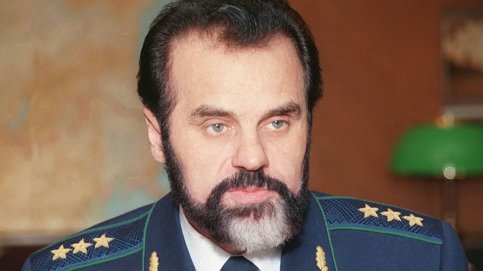 Второй генпрокурор России Алексей Казанник