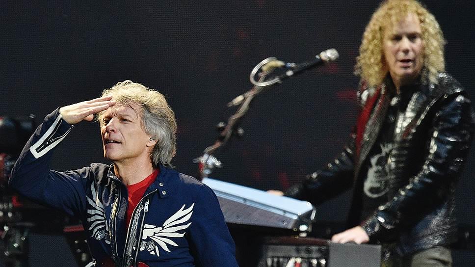 Московский концерт Джона Бон Джови обозревал все периоды истории его группы, включая не самые успешные