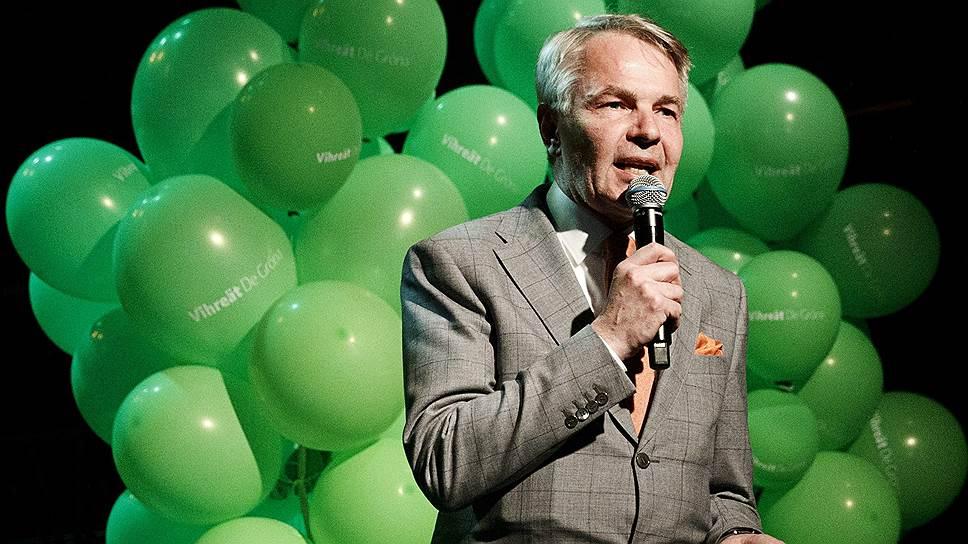 Лидер финских зеленых Пекка Хаависто уже дважды входил в правительство и теперь нацелился на пост министра иностранных дел