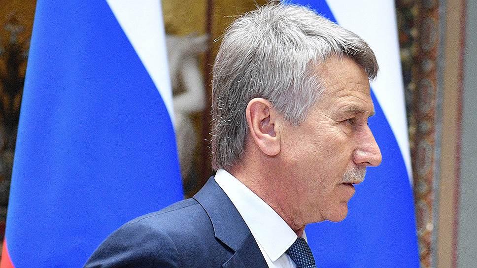 Председатель правления ПАО «НОВАТЭК» Леонид Михельсон