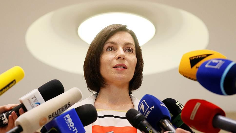 """Премьер-министр Молдавии Майя Санду рассказала """"Ъ"""" о том, кто в стране власть"""