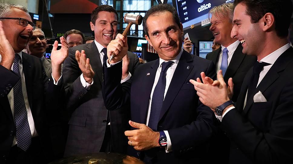 Французский медиамагнат Патрик Драи взял в свои руки молоток Sotheby's