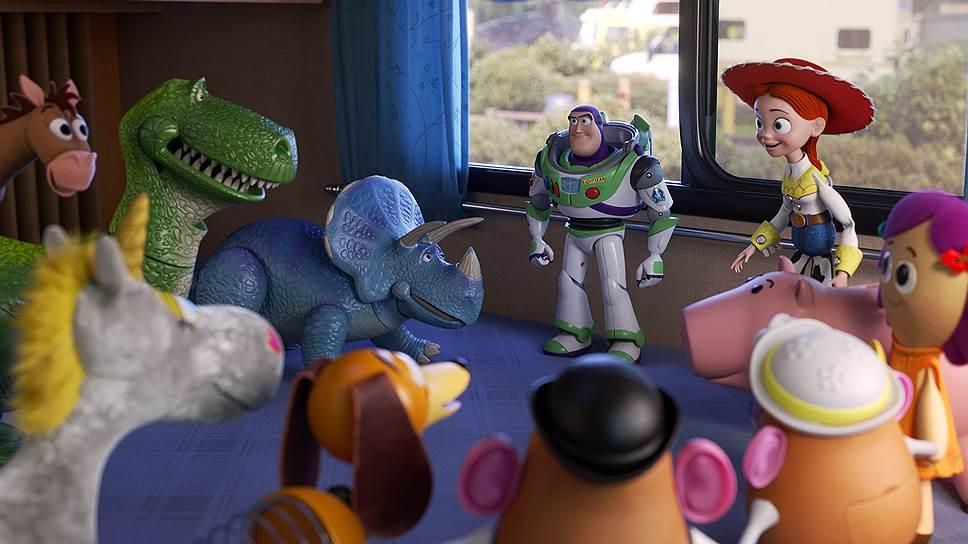 Нестареющие игрушки показались своим уже отчасти повзрослевшим зрителям, очевидно, в последний раз