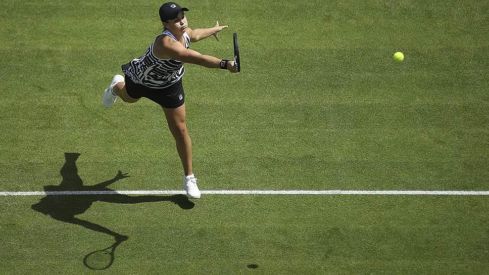 Шестая за карьеру победа в финалах турниров WTA, которую Эшли Барти одержала в Бирмингеме, принесла ей титул первой ракетки мира