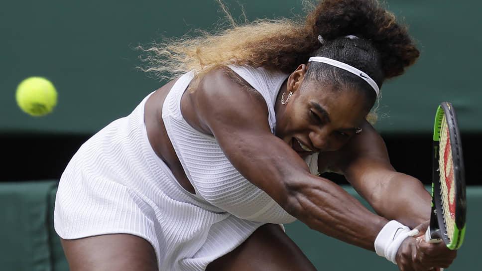 Выход Серены Уильямс в полуфинал Wimbledon стал для 37-летней американки самым заметным достижением в нынешнем сезоне, по ходу которого она выиграла пока лишь 14 матчей