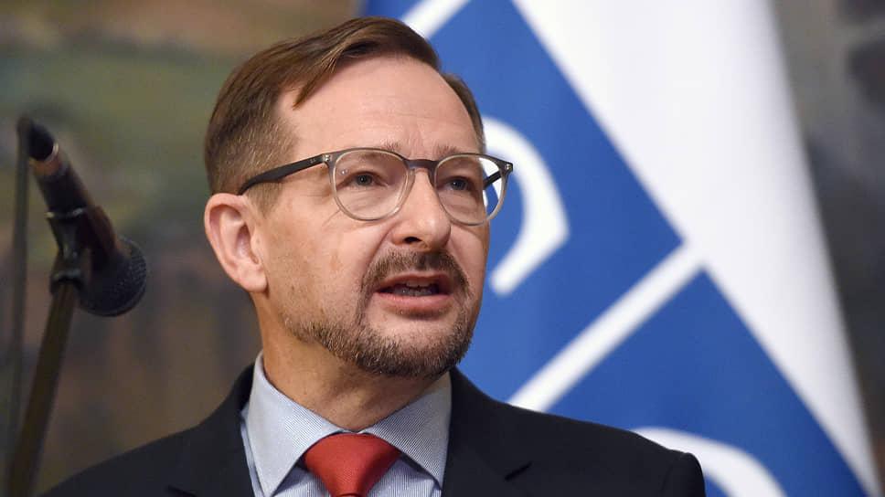 Генсек ОБСЕ Томас Гремингер — об «окне возможностей» на Украине