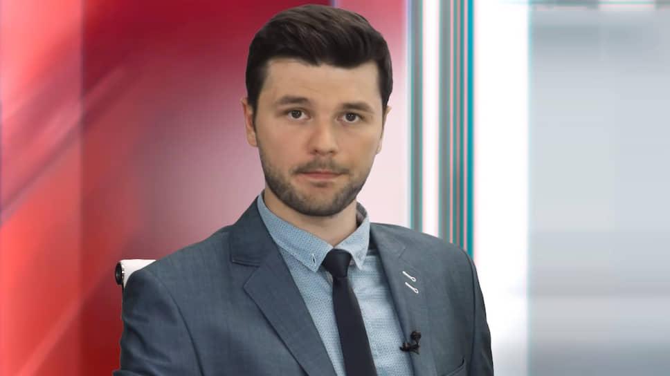 Актер Максим Линник, работающий аналитиком TeleTrade под псевдонимом Владимир Чернобай