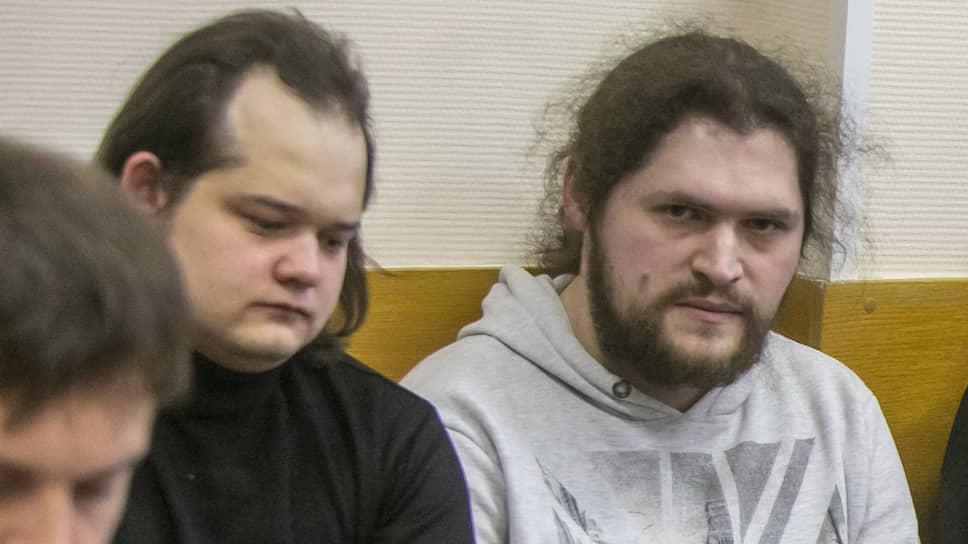 Фигуранты дела «Нового Величия» Рустам Рустамов (слева) и Павел Ребровский