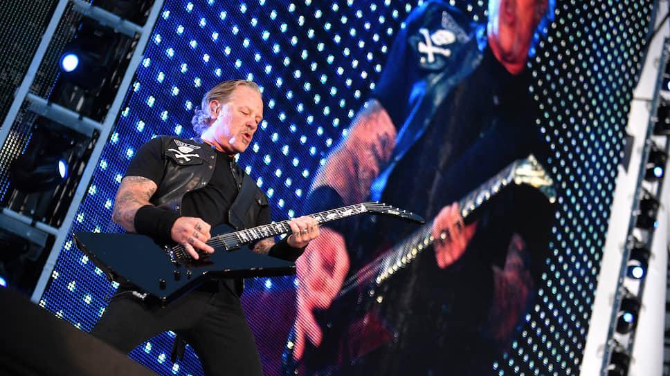 Группа Metallica (на фото – ее бессменный фронтмен Джеймс Хетфилд) нашла с русским слушателем общий язык
